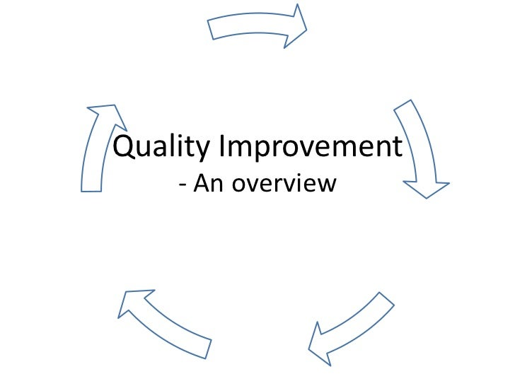 quality improvement presentation essay Quality improvement  quality improvement  the purpose of this module is to provide a foundation and an introduction to quality improvement (qi) concepts and key.