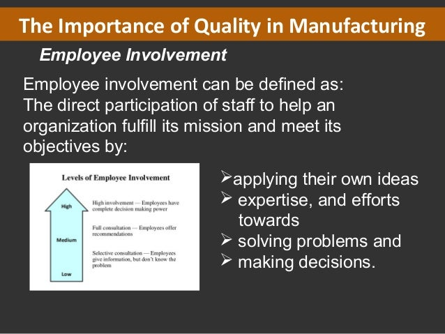 employee involvement and participation management essay Key terms used in employee involvement and participation academic essay.