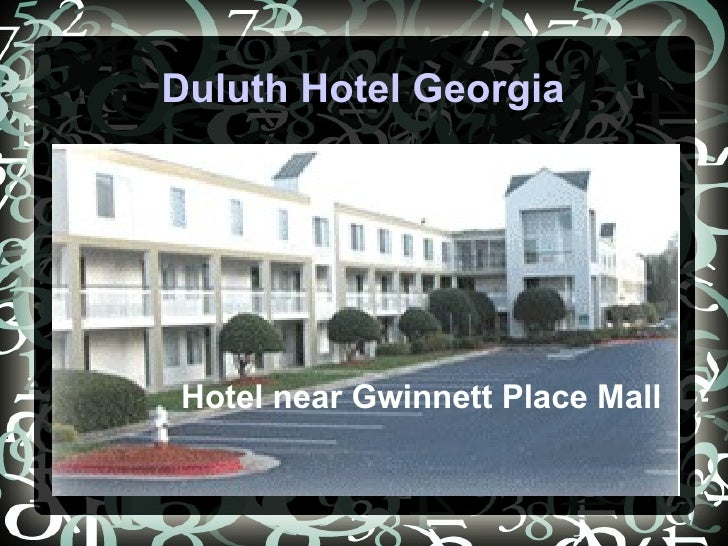 Duluth Hotel Georgia Hotel near Gwinnett Place Mall