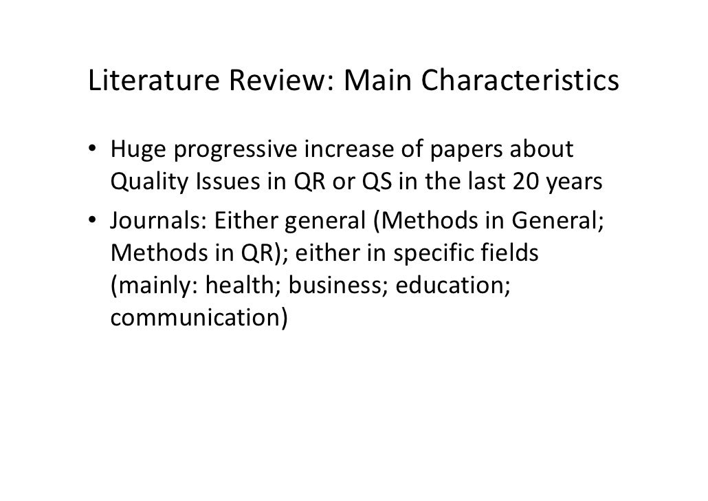 review of literature on quality of work life Employee commitment and quality of work life – a literature review © the international journal of indian psychology , issn 2348-5396 (e)| issn: 2349- 3429 (p.