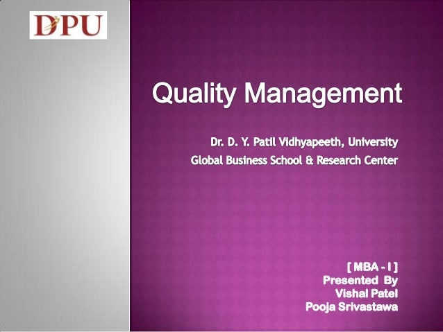 [ MBA - I ] Presented By Vishal Patel Pooja Srivastawa