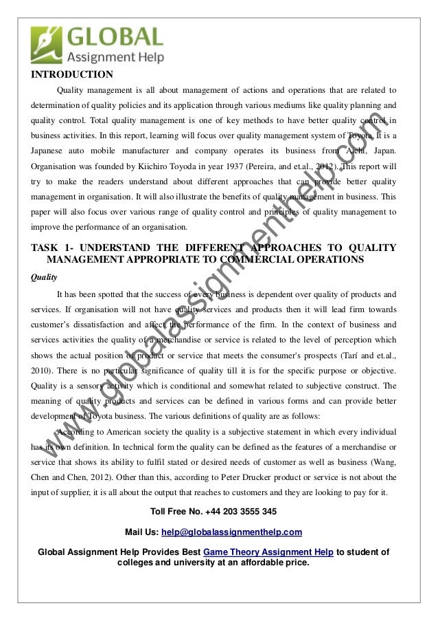a description of total quality management tqm and its application in operations management Talk:total quality management/archives/2010 this is an archive of past discussions tqm is not limited in its application he referred to dr deming as the father of tqm in reaction to the man's description of tqm, dr deming said, where did you hear that you didn't hear it here.