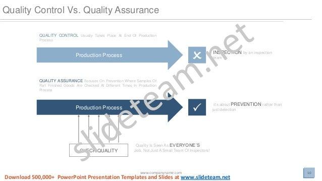 Quality management assurance focus and approach powerpoint presentati powerpoint presentation templates and slides at slideteam 10 toneelgroepblik Images