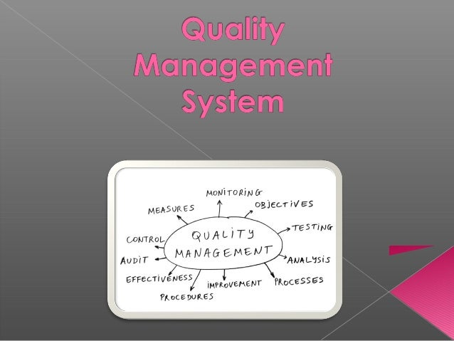   A multidisciplinary, systematic quality assessment and performance improvement framework  Goal: to improve patient outc...