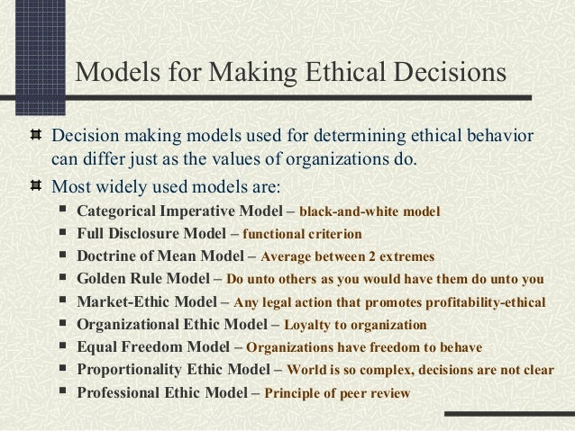 """utilitarian moral rights and justice models of ethics management Normative ethics continued questions of justice  it is in conformity or conflict with moral duties and rights (a)  utilitarian ethics"""", i smart ."""