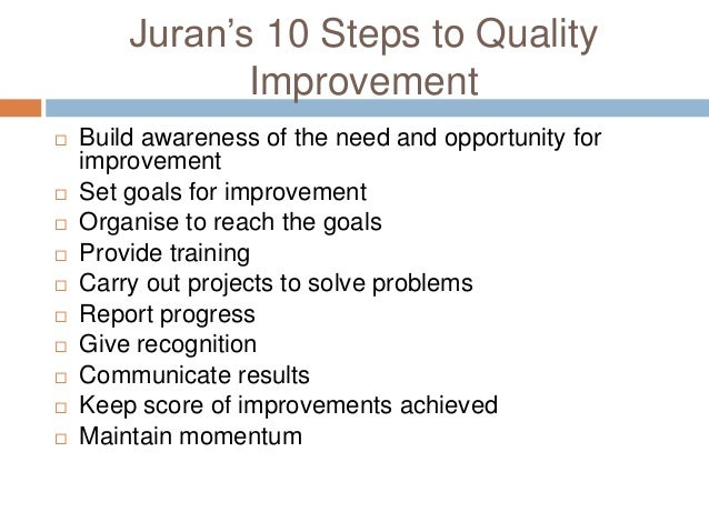 what is juran s definition of breakthrough improvement Juran's philosophy addresses improvement, change and innovation for any organization as a matter of breakthrough ventures he defined breakthrough or frame-breaking as a dynamic, decisive movement to new, higher levels of performance.
