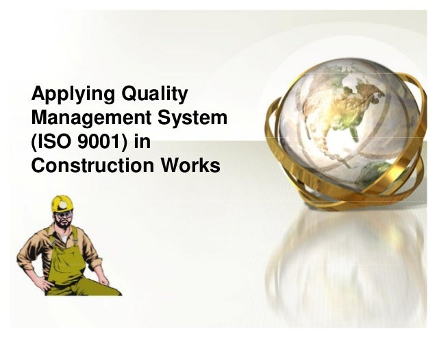 tqm in construction Total quality management in construction by: engineer mohammed el bakri el beeli.