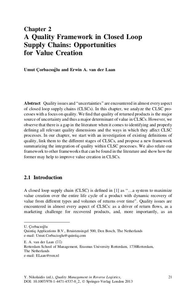 Phd thesis on logistics