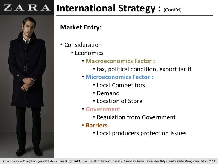 behavioral management approach evident of zara international Start studying international management: culture, strategy, behavior - chapter 8 learn vocabulary, terms, and more with flashcards, games, and other study tools.