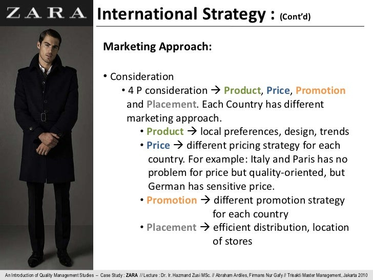 Operations Management at ZARA. Challenges and Recommendations