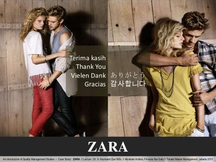 Zara's Supply Chain Blunder – In Time for Fashion Week