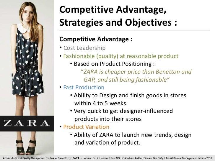 zara competitive advantage