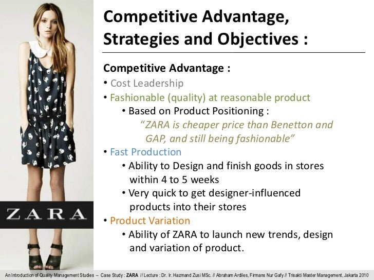 zara cost leadership or differentiation