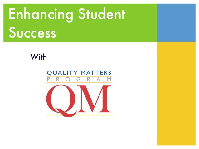 Enhancing StudentSuccess   With