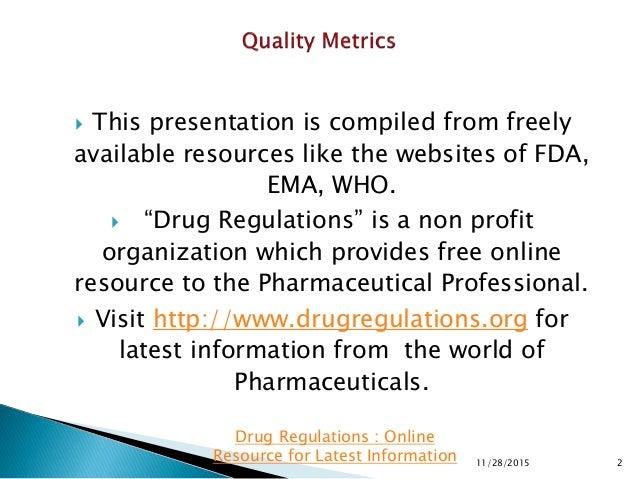 Quality Metrics Slide 2
