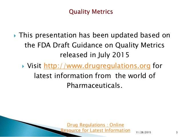 Quality Metrics Slide 3