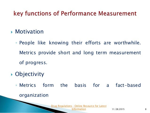  Motivation ◦ People like knowing their efforts are worthwhile. Metrics provide short and long term measurement of progre...