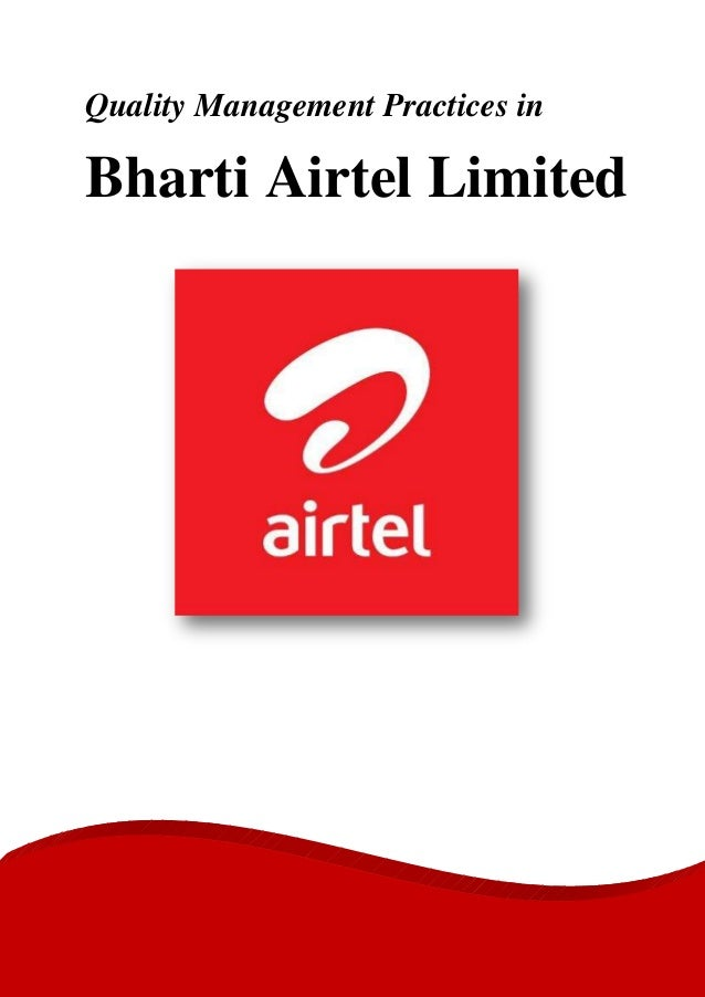 Marketing management bharati airtel india