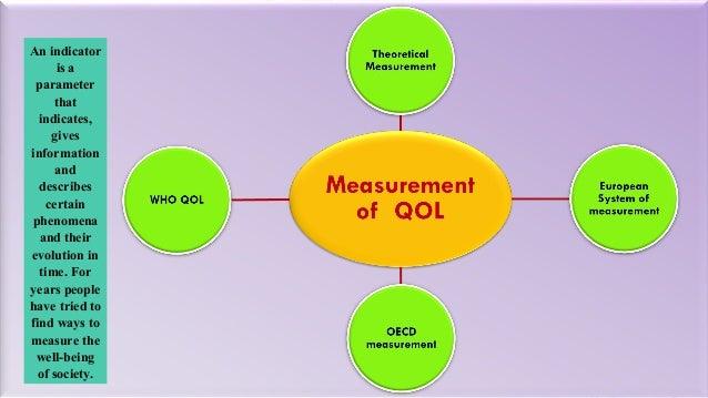 quality of life theory pdf