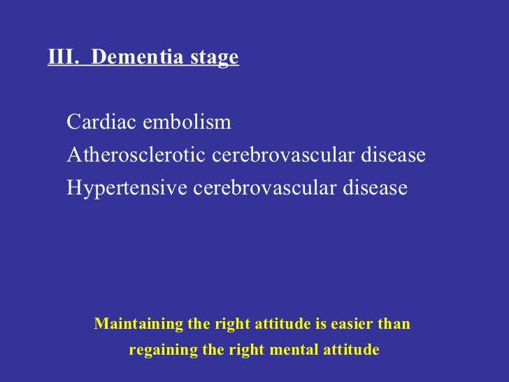 management of patients with cerebrovascular disorders The proper management of patients with cerebral ischemia or infarction depends upon (1) the etiology of the process, (2) its state of evolution, and (3) the relationship between the disorder in the nervous system and the condition of the patient in general in the past several years our ability .
