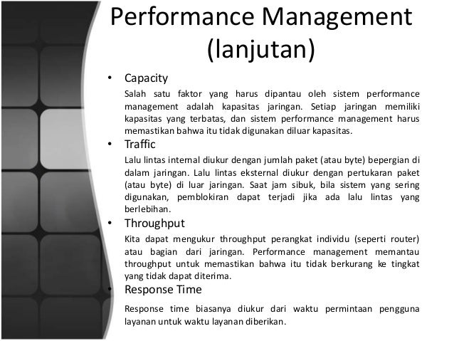 Quality of service (qos) & network management