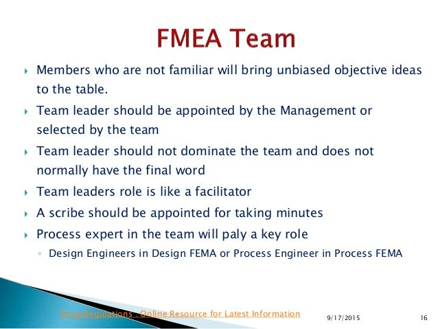  Members who are not familiar will bring unbiased objective ideas to the table.  Team leader should be appointed by the ...