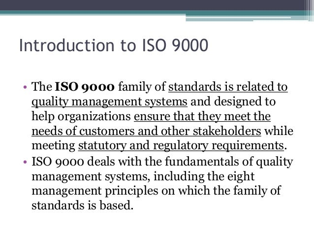 Iso 9000 Standard Pdf