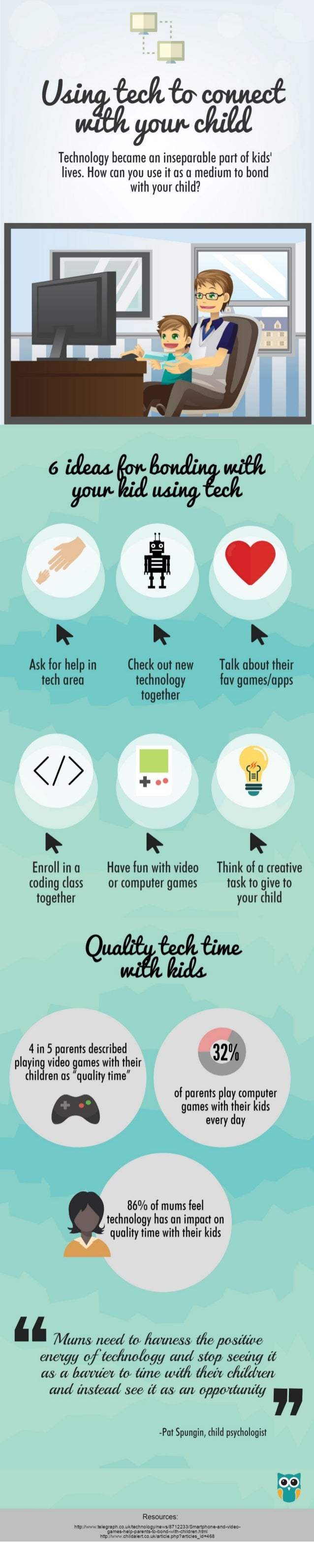 Using tech to connect with your child