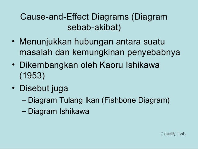Quality tools cases i998 gambar analisis matriks 18 cause and effect diagrams diagram sebab akibat ccuart Images