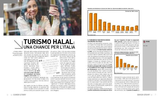 6 > 7< TURISMO HALAL: UNA CHANCE PER L'ITALIA COVER STORY Dall'analisi delle tendenze dell'evoluzione della domanda turist...