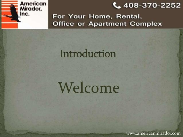 Welcome  www.americanmirador.com