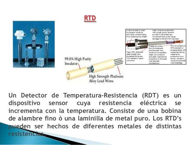 TERMISTORTal como el RTD, el termistor es también un resistorsensitivo.Así como el termopar es el más versátil y el RTD el...