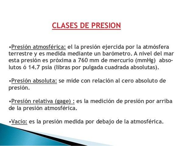 TÉCNICAS DE MEDICIÓNLos instrumentos de presión se clasifican en dos grupos:•Mecánicos•Electromecánicos