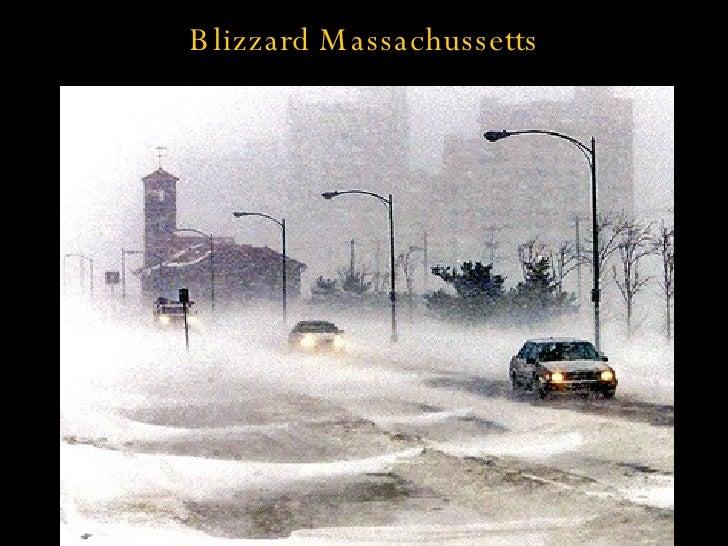 Blizzard Massachussetts