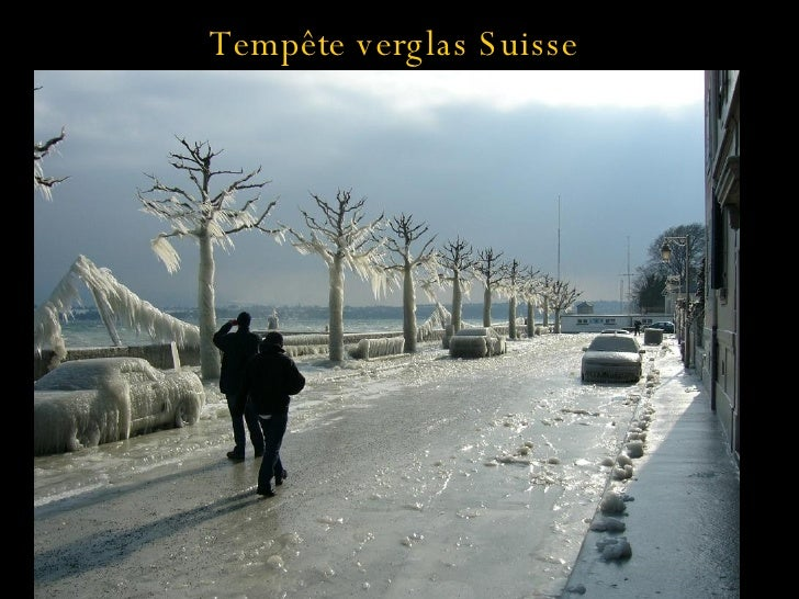 Tempête verglas Suisse