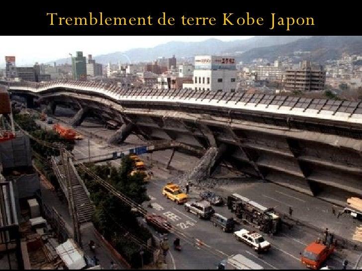 Tremblement de terre Kobe Japon
