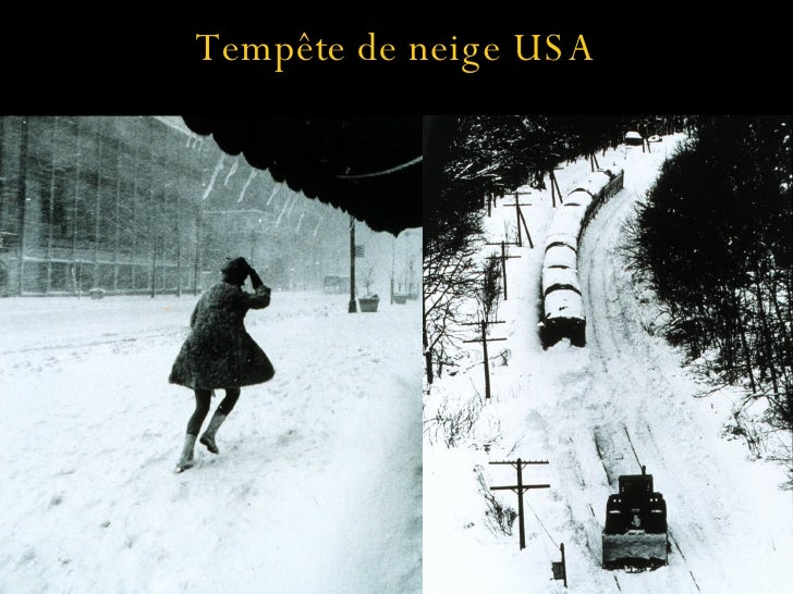 Tempête de neige USA