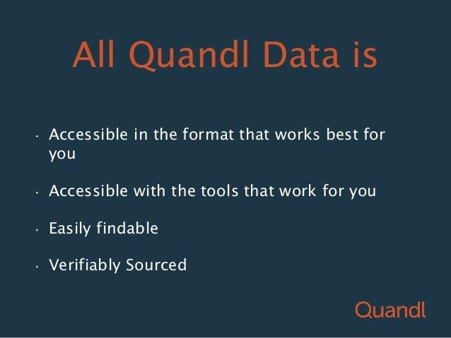 Quandl forex
