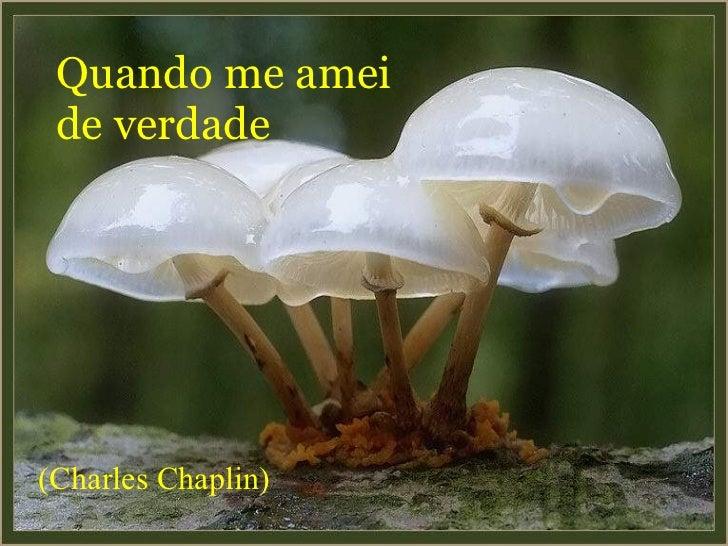 Quando me amei de verdade (Charles Chaplin)