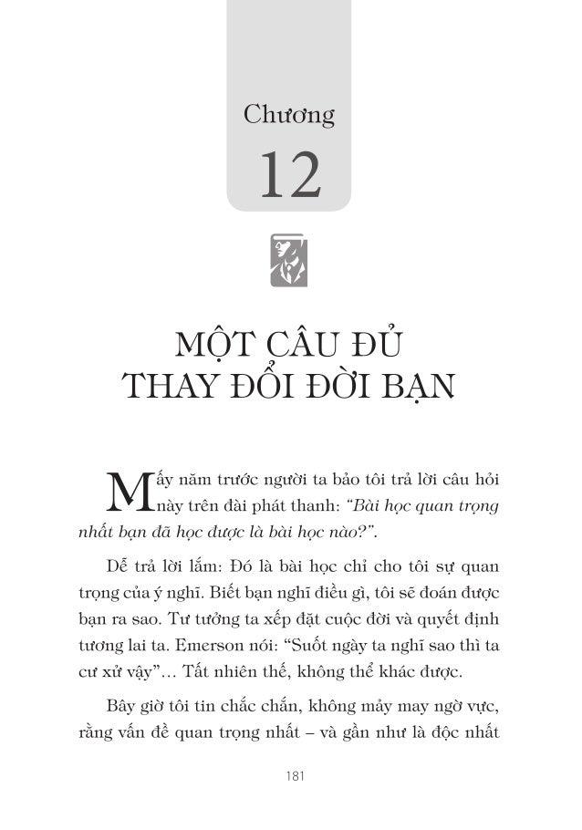 Quang ganh lo di va vui song   doc-thu