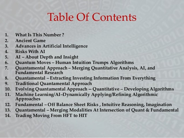 Quantamental Investing - Merging Machine Learning, Fundamentals, & Insight Slide 2