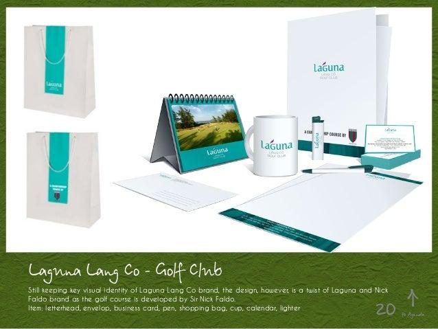 Laguna Lang Co - Golf Club Still keeping key visual identity of Laguna Lang Co brand, the design, however, is a twist of L...