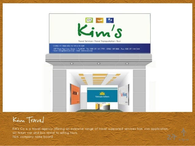 Kim Travel Kim's Co is a travel agency offering an extensive range of travel supported services from visa application, air...