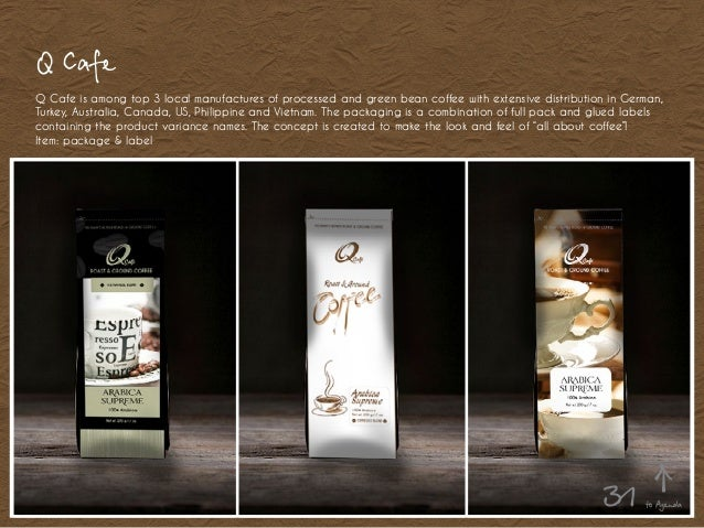 Q Cafe Q Cafe is among top 3 local manufactures of processed and green bean coffee with extensive distribution in German, ...
