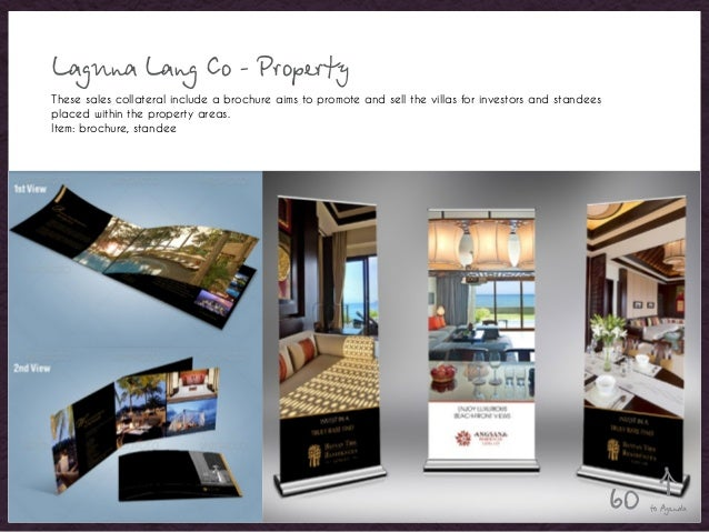 Laguna Lang Co - Property These sales collateral include a brochure aims to promote and sell the villas for investors and ...