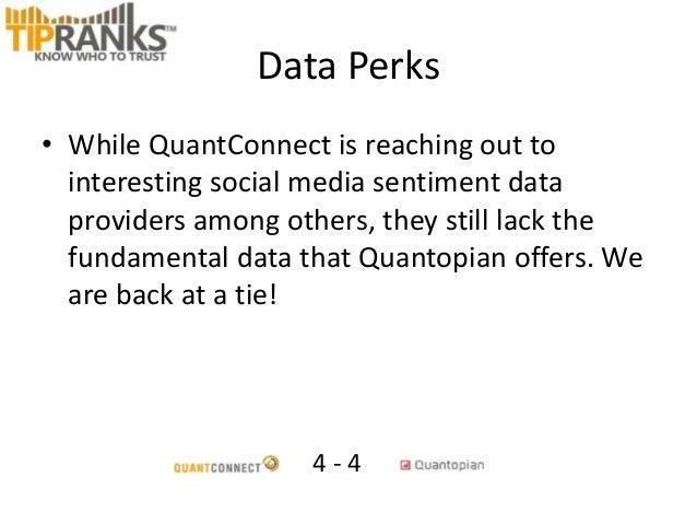 QuantConnect vs Quantopian