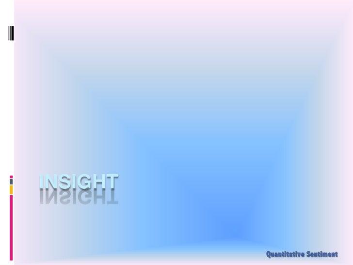 Insight<br />