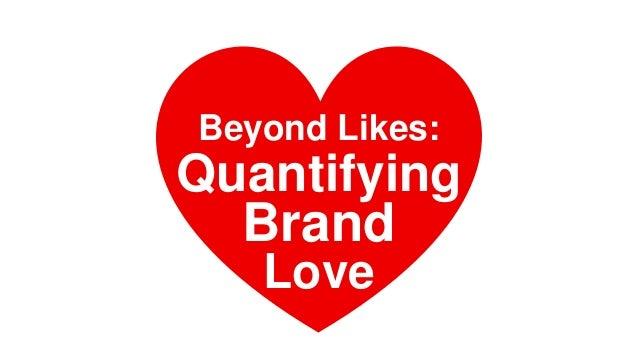 Beyond Likes: Brand Love Quantifying