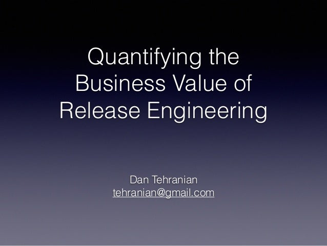 Quantifying the 