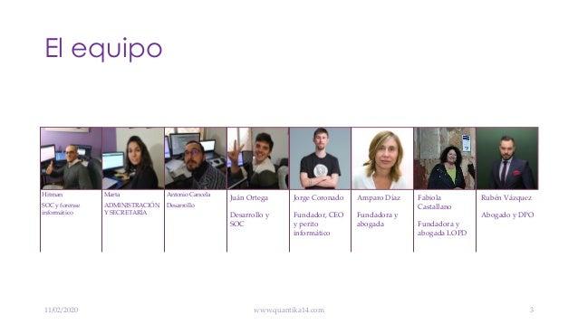 Hacer prácticas en QuantiKa14 - ETSII 2020 Slide 3